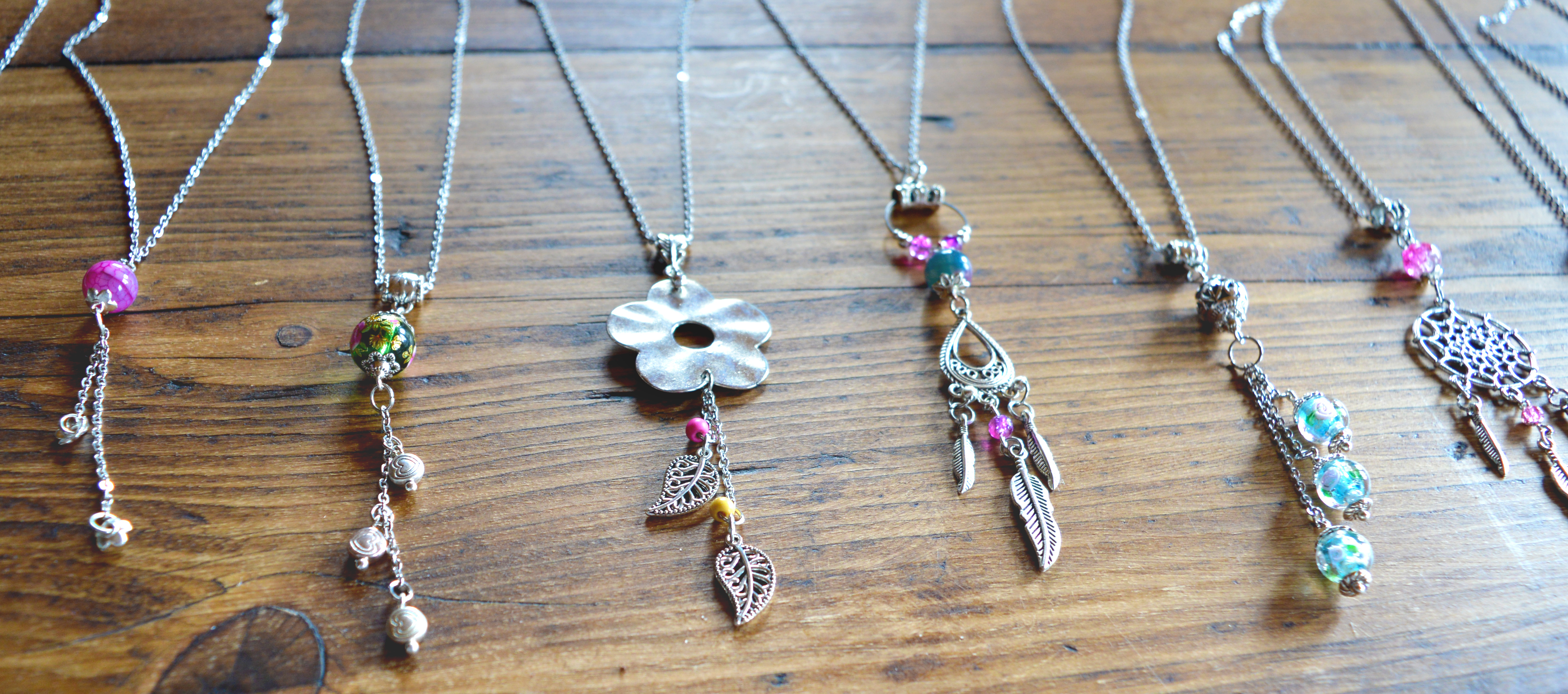 Handmade Bead & Charm Necklaces by Lucy Rawle